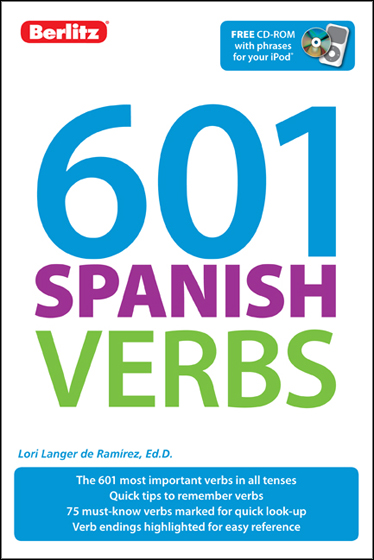 601 Spanish Verbs book cover